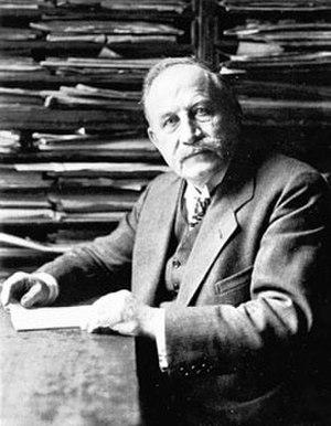 Josef Strzygowski - Strzygowski in Vienna