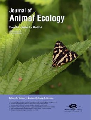 Journal of Animal Ecology - Image: Journal of Animal Ecology cover, Volume 83, Issue 3