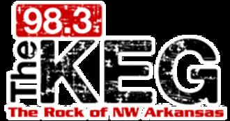 KKEG - Image: KKEG 98.3The Keg logo