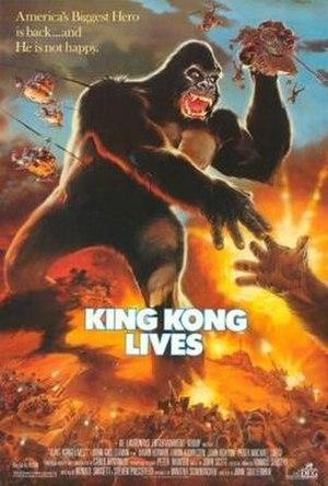 King Kong Lives - Image: Kingkonglives