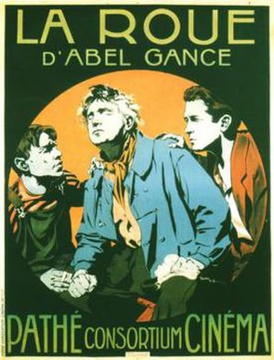 La Roue - theatrical release poster