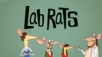Lab Rats (UK TV series) - Cartoon-style title screen of Lab Rats.