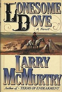 <i>Lonesome Dove</i> novel by Larry McMurtry
