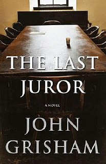 <i>The Last Juror</i> novel by John Grisham