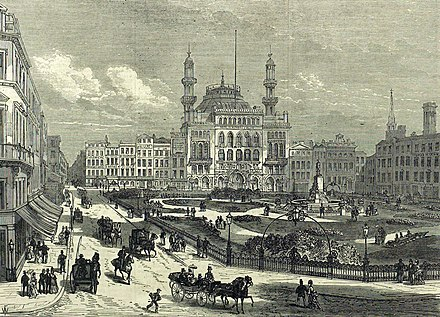 The Alhambra Theatre, Leicester Square Leicester-square-1874-iln.jpg
