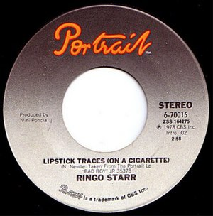 Lipstick Traces (on a Cigarette) - Image: Lipstick Traces Starr