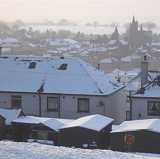 Winter of 2009–10 in Europe - Lockerbie, Scotland, 25 December 2009