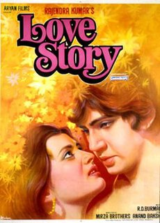 <i>Love Story</i> (1981 film) 1981 film directed by Rahul Rawail
