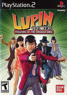 <i>Lupin the 3rd: Treasure of the Sorcerer King</i> 2002 video game
