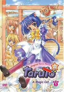 <i>Magical Meow Meow Taruto</i> Japanese manga and anime tv series