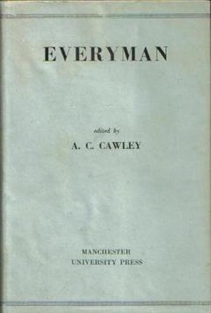 "Arthur Clare Cawley - First edition cover of ""Everyman"""