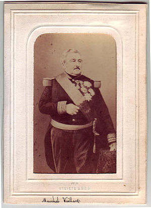 Jean-Baptiste Philibert Vaillant - 19th century carte de visite.