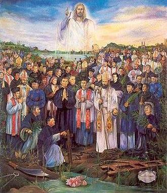 Vietnamese Martyrs - Image: Martyrs of Vietnam