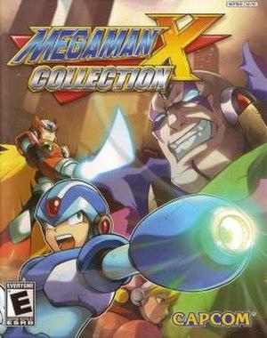 Mega Man X Collection - Cover art