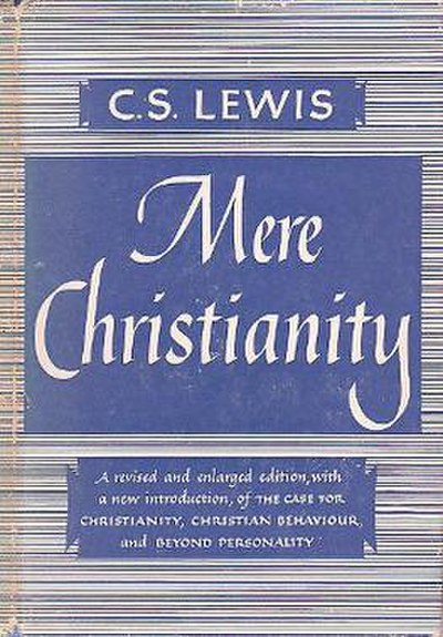 Picture of a book: Mere Christianity