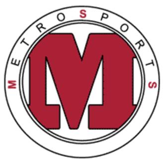 Spectrum Sports (Kansas City) - Metro Sports logo used from 1996 to 2010.