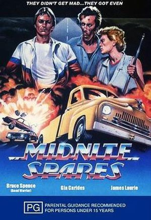 Midnite Spares - VHS cover