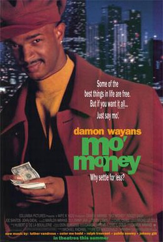 Mo' Money - Theatrical release poster