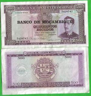 Mozambican escudo
