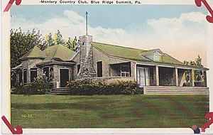 Monterey Country Club - Monterey Country Club postcard