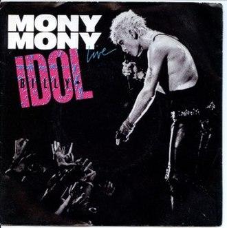 Mony Mony - Image: Mony Mony Live