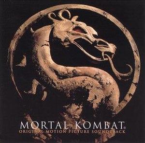 Mortal Kombat: Original Motion Picture Soundtrack - Image: Mortal Kombat Original Motion Picture Soundtrack cover