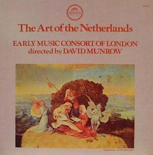 The Art of The Netherlands (recording) - David Munrow The Art of the Netherlands 3LP box cover 1976