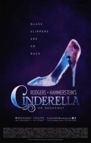 Cinderella (2013 Broadway production) - Original Broadway poster (2013)