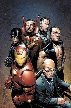 Illuminati Popular Team Superheroes