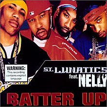 Nelly and St. Lunatics - Batter Up CD cover.jpg