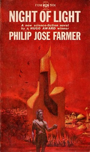 Night of Light - Cover of the first edition.