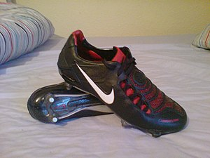 Nike Total 90 - The Total 90 Laser range of football boots was introduced in 2007.