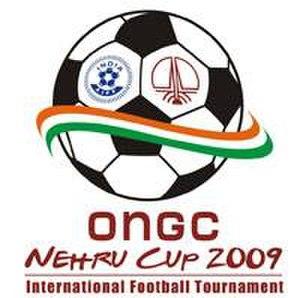 2009 Nehru Cup - Image: ONGC Nehru Cup 2009 logo