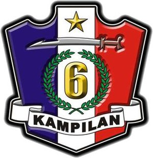 Operation Darkhorse - Image: Official Seal of the 6th Infantry Division (Philippines)