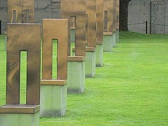 History of Oklahoma City - At the Oklahoma City National Memorial.