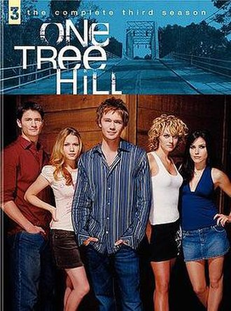 One Tree Hill (season 3) - One Tree Hill Season 3 DVD cover