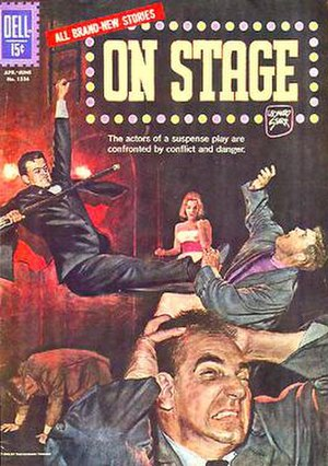 Mary Perkins, On Stage - On Stage comic book published by Dell.