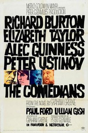 The Comedians (1967 film) - Film poster