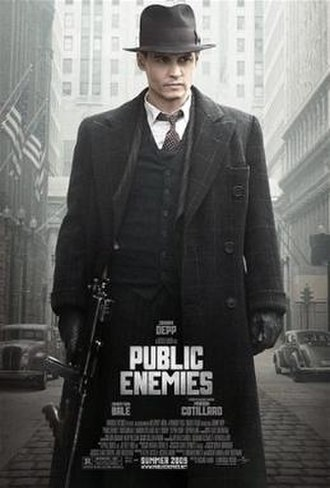 Public Enemies (2009 film) - Theatrical release poster