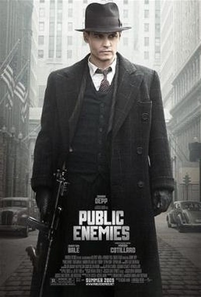 Picture of a movie: Public Enemies
