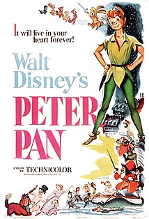 <i>Peter Pan</i> (1953 film) 1953 American animated fantasy-adventure film