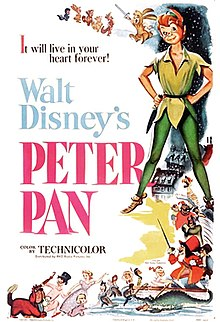 peter pan summary disney