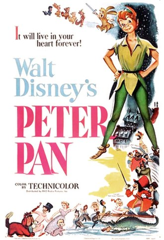 Peter Pan (1953 film) - Original release poster