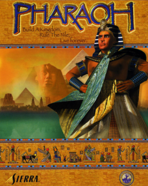 Pharaoh (video game) - Image: Pharaoh Coverart