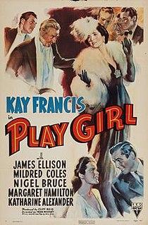 <i>Play Girl</i> 1941 film by Frank Woodruff