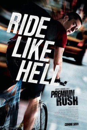 Premium Rush - Theatrical release poster
