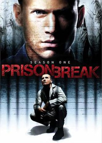 Prison Break (season 1) - DVD cover