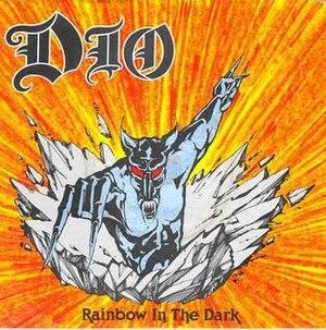 Rainbow in the Dark - Image: Rainbowinthe Dark Single