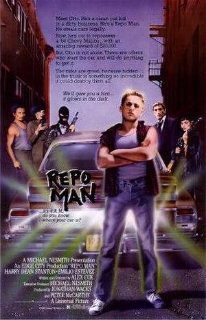 Repo Man (film) - Image: Repo Man Poster