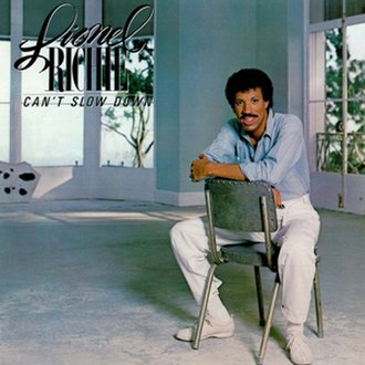 Can't Slow Down (Lionel Richie album) - Image: Richieslow